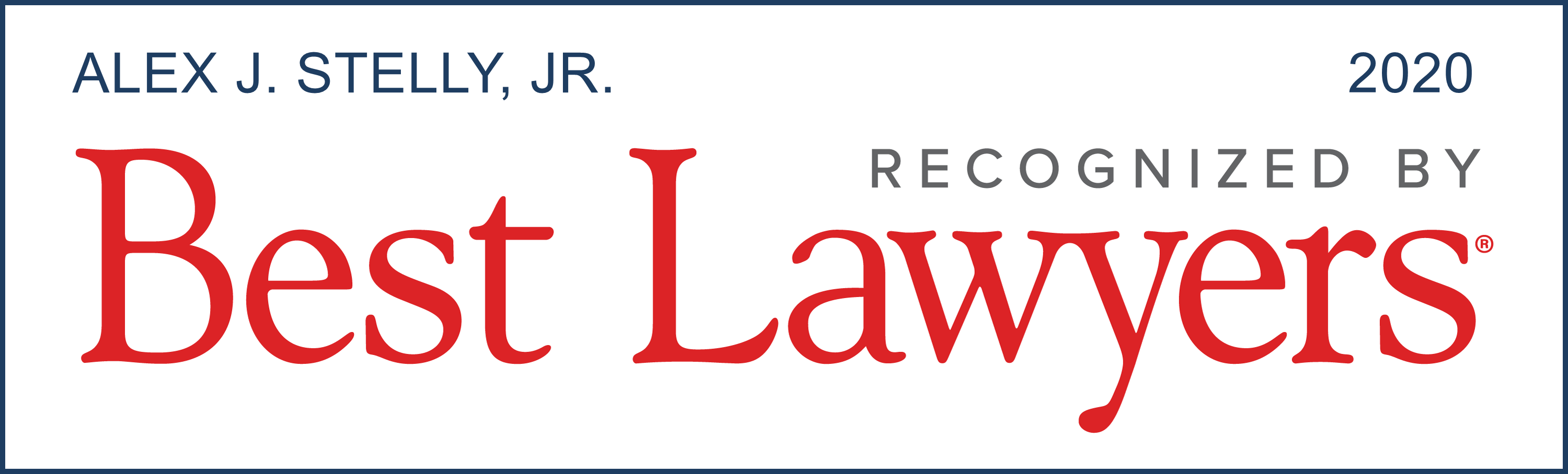 U.S.News & World Report - Best Lawyers 2020